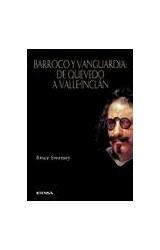 Papel BARROCO Y VANGUARDIA DE QUEVEDO A VALLE INCLAN
