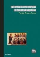 Papel El Orden De Los Clérigos O Ministros Sagrados