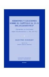 Papel SERMONES Y LECCIONES SOBRE EL CAPITULO 24,23-31 DEL ECLESIAS