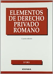 Papel Elementos De Derecho Privado Romano, 4ª Ed.