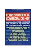 Papel CORRESPONDENCIA COMERCIAL DE HOY MANUAL PRACTICO COMPLETO