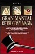 Papel Gran Manual De Trucos De Magia