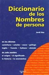 Libro Diccionario De Los Nombres De Persona