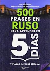 Libro 500 Frases En Ruso Para Aprender En 5 Dias