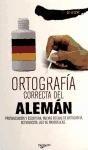 Libro Ortografia Correcta Del Aleman