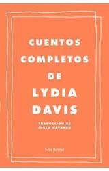 Papel CUENTOS COMPLETOS DE LYDIA DAVIS (tapa dura)