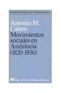 Papel MOVIMIENTOS SOCIALES EN ANDALUCIA 1820-1936