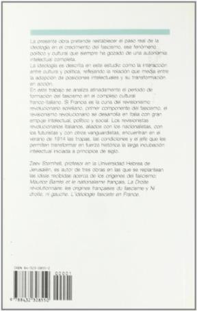 Papel Nacimiento De La Ideologia Fascista, El