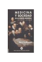 Papel MEDICINA Y SOCIEDAD EN LA EUROPA MODERNA 1500-1800