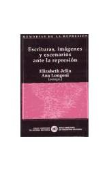 Papel ESCRITURAS, IMAGENES Y ESCENARIOS ANTE LA REPRESION