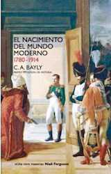 Papel EL NACIMIENTO DEL MUNDO MODERNO 1780-1914