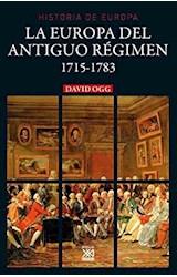 Papel LA EUROPA DEL ANTIGUO REGIMEN 1715-1783