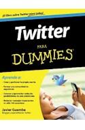 Papel TWITTER PARA DUMMIES EL LIBRO SOBRE TWITTER PARA TODOS