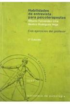 Papel HABILIDADES DE ENTREVISTA 2 TOMOS PARA PSICOTERAPEUTAS