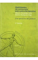 Papel HABILIDADES DE ENTREVISTA PARA PSICOTERAPEUTAS