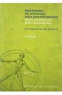 Papel HABILIDADES DE ENTREVISTA PARA PSICOTERAPEUTAS NUEVAS PSICOTERAPIAS (CON EJERCICIOS DEL PROFESOR)