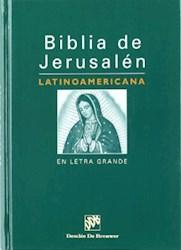 Libro Biblia De Jerusalem Latinoamericana Letra Grande