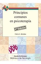 E-book Principios comunes en Psicoterapia