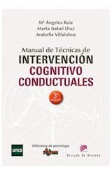Papel MANUAL DE TECNICAS DE INTERVENCION COGNITIVO CONDUCTUALES
