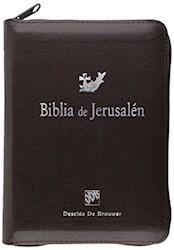 Libro Biblia De Jerusalem Con Cremallera De Bolsillo