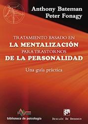 Libro Tratamiento Basado En La Mentalizacion Para Trast