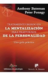 Papel TRATAMIENTO BASADO EN LA MENTALIZACION PARA TRASTORNOS DE LA