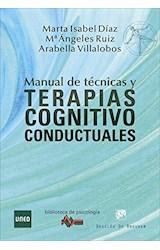 Papel MANUAL DE TECNICAS Y TERAPIAS COGNITIVO CONDUCTUALES