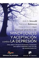 Papel MANUAL PRACTICO MINDFULNES Y ACEPTACION CONTRA LA DEPRESION