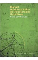 E-book Manual teórico-práctico de Psicoterapias Cognitivas