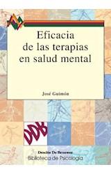 E-book Eficacia de las terapias en salud mental