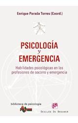 E-book Psicología y emergencia