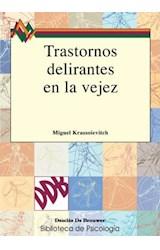 E-book Trastornos delirantes en la vejez