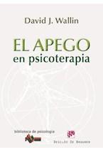 E-book El apego en psicoterapia