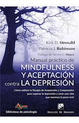 E-book Manual práctico de mindfulness y aceptación contra la depresión