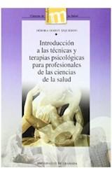 Papel INTRODUCCION A LAS TECNICAS Y TERAPIAS PSICO