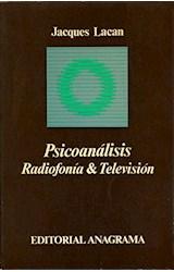 Papel PSICOANALISIS, RADIOFONIA Y TELEVISION