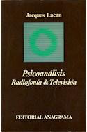 Papel PSICOANALISIS RADIOFONIA Y TELEVISION
