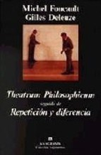 Papel THEATRUM PHILOSOPHICUM SEGUIDO DE REPETICION Y DIFERENCIA