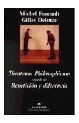 Papel THEATRUM PHILOSOPHICUM SEGUIDO DE REPETICION Y DIFERENCIA