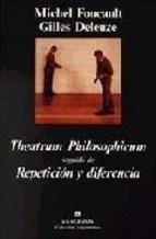 Papel Theatrum Philosophicum Y Repetición Y Diferencia