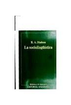 Papel SOCIOLINGUISTICA LA                   -BL001