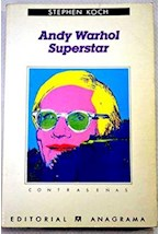 Papel ANDY WARHOL SUPERSTAR                 -CO097