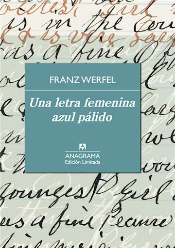 E-book Una Letra Femenina Azul Pálido