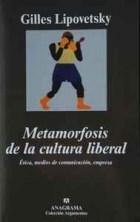 Papel Metamorfosis De La Cultura Liberal