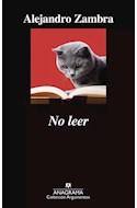 Papel NO LEER (COLECCION ARGUMENTOS 520)