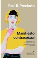 Papel MANIFIESTO CONTRASEXUAL (COLECCION ARGUMENTOS 424)