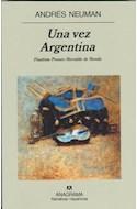 Papel UNA VEZ ARGENTINA (NARRATIVAS HISPANICAS 352)