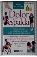 Papel DOLOR DE ESPALDA (SALUD NATURAL) (CARTONE)