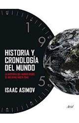 Papel HISTORIA Y CRONOLOGIA DEL MUNDO LA HISTORIA DEL MUNDO DESDE EL BIG BANG HASTA 1945