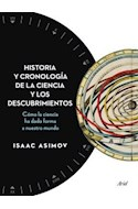 Papel HISTORIA Y CRONOLOGIA DE LA CIENCIA Y LOS DESCUBRIMIENTOS COMO LA CIENCIA HA DADO FORMA A NUESTRO MU